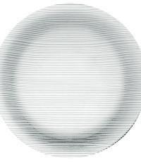 Prato Duralex Diamante Raso 23cm - 24 unidades